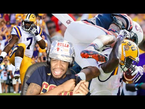 Strongest Rb Ever Leonard Fournette Lsu Highlights Reaction