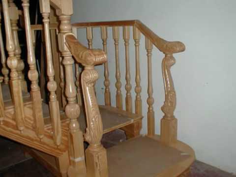 Escaleras de madera youtube - Escaleras de mader ...