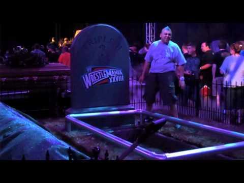 WWE WrestleMania Axxess 2012: Undertaker's Graveyard