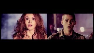 Stiles + Lydia - Shut up and let me save you life-