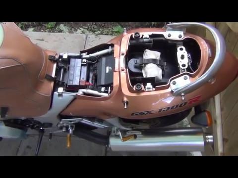 Putting Suzuki Hayabusa into Dealer Mode