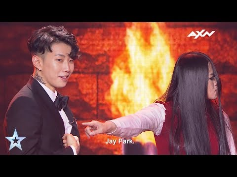 The Sacred Riana Spooked Jay Park - Results Show | Asia's Got Talent 2017