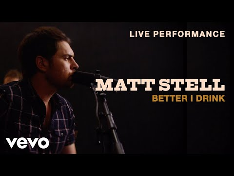 "Matt Stell - ""Better I Drink"" Live Performance 