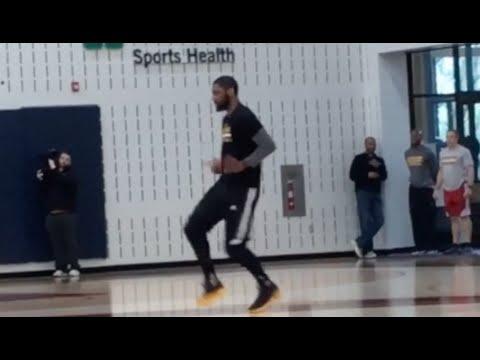 Kyrie Irving Running Man Challenge