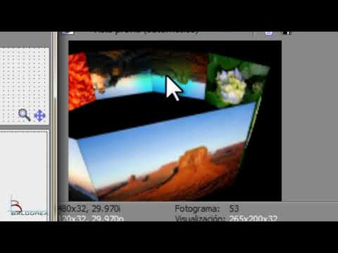 Tutorial Octágono 3D Vegas de Sony En Español
