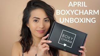 APRIL BOXYCHARM UNBOXING 2017 (Subtitulado) | itsmeana