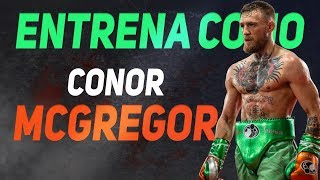 RUTINA DE CONOR MCGREGOR | ENTRENA COMO NOTORIOUS | The Fit Club