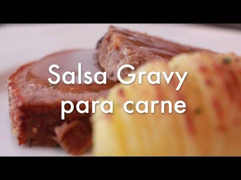 Salsa Gravy para carnes - Recetas de Cocina