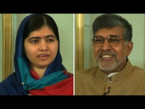 Grand reception for Nobel winners Satyarthi, Malala in Oslo