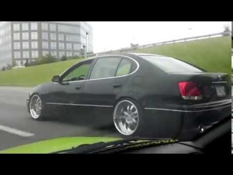 My VIP Lexus gs300 rolling shot
