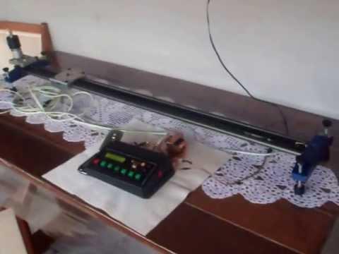 Controlador de movimento para câmeras filmadoras.