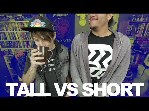 Being Tall Vs Being Short #thisvsthat | MattG
