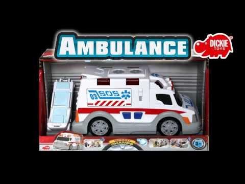 Ambulance Karetka Pogotowia Rescue Team Zespół Ratowniczy Dickie Toys www.MegaDyskont.pl