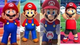 Evolution of Mario in Mario & Sonic at the Olympic Summer Games (2008-2020)