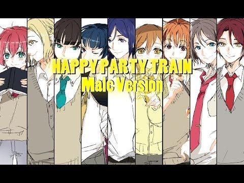 Aqours-HAPPY PARTY TRAIN[Male Version]