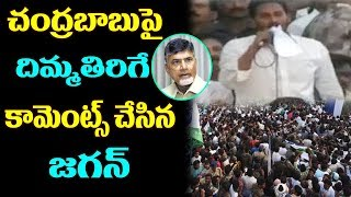 YS Jagan Slams Chandrababu At Public Meeting At Ganapavaram | Praja Sankalpa Yatra |Top Telugu Media