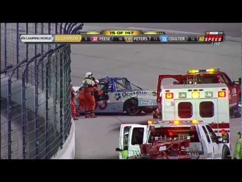 2011 NASCAR Texas Kyle Busch vs Ron Hornaday