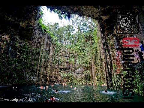 Mexico Cancun Grand Park Royal Tour Ik Kil Sinkhole Coco