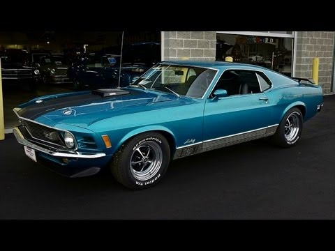 1970 Ford Mustang Mach 1 351 Cleveland V8