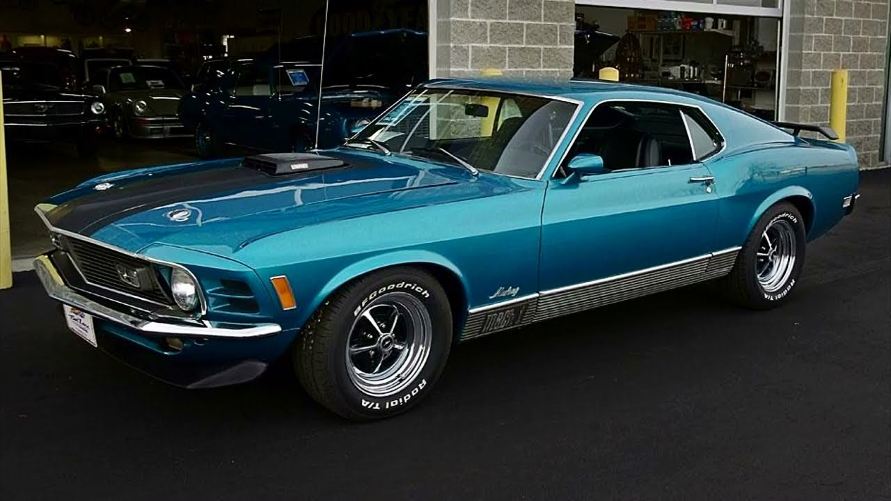 1970 Ford Mustang Mach 1 351 Cleveland V8 Youtube