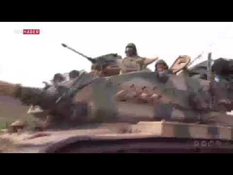 ÖSO birlikleri Afrin yakınlarında yaşayan yöre halkı için seferber oldu.