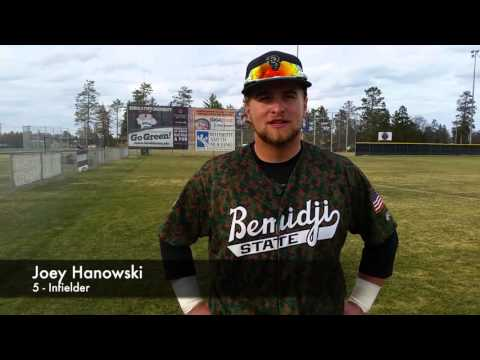 Bemidji State Baseball Post-Game vs. Sioux Falls (4/16/16)