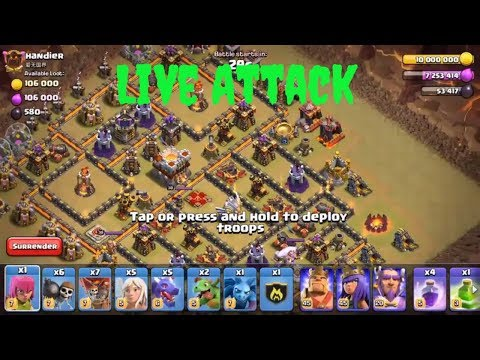 Live Att Queen Walk + Dragon | 3 Stars War TH11 | ClanVNN #332