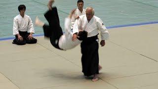Powerful Aikido Isoyama Hiroshi - 56th All Japan Aikido Demonstration 2018