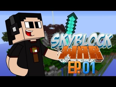 Minecraft de PC: Creando un Mapa: Skyblock Wars Ep. 1