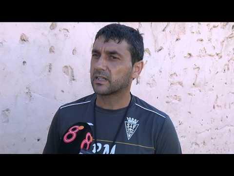 Pepe Masegosa en previa Lebrijana-San Fernando (22-08-14)