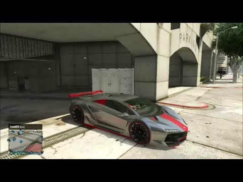 Gta 5 Lamborghini Sesto Elemento Zentorno Fully Customized Youtube