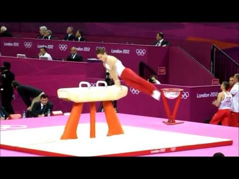 Gymnastics Pommel Horse Entertainer   Performer video