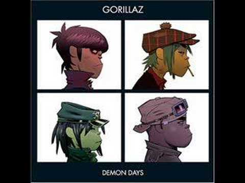 Gorillaz Demon Days DARE
