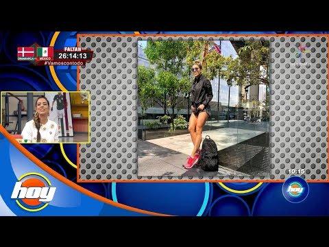 Sara Corrales enciende las redes con sus torneadas piernas | Hoy