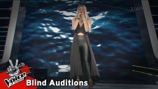 Χρύσω Δημήτρη - Φως   5o Blind Audition   The Voice of Greece