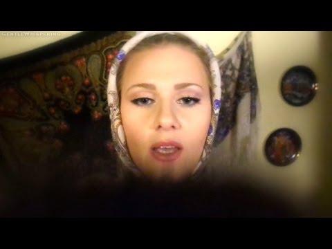 ♥(*^.^) Russian Doll 'Matryoshka' Does Your MakeUp Best♥ ASMR Role Play / Soft Spoken / Ear-toEar