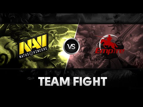Team fight by Na'Vi vs Team Empire @ The International 2014
