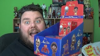 Disney Aladdin Mystery Minis Funko Mystery Box Vinyl Figures Unboxing Toy Review