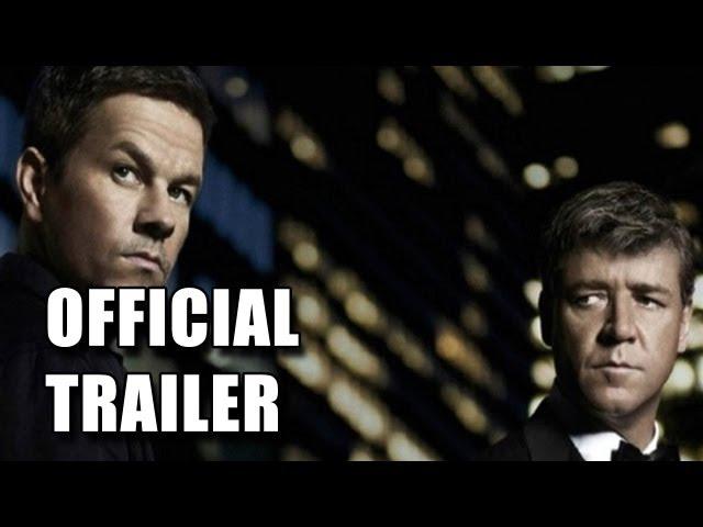 Broken City Official Trailer #1 [HD]:  Mark Wahlberg, Russell Crowe,Catherine Zeta-Jones