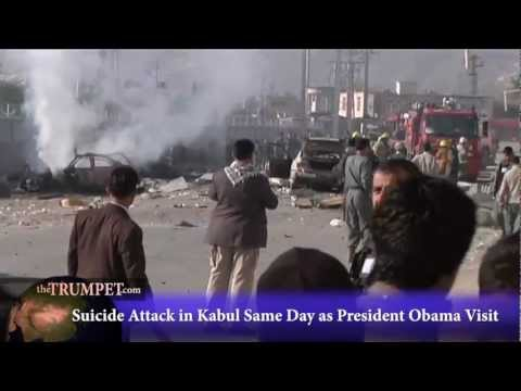 Suicide Attack in Kabul Same Day as President Obama Visit