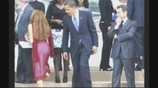 Obama Checking Out Woman