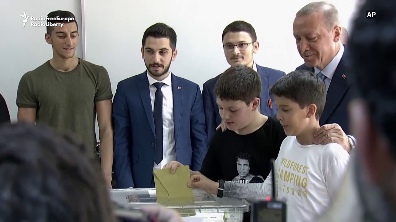 Erdogan Votes In Turkey's Watershed Elections