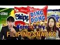 Koreans Taste Filipino Snacks for the first time [Korean Bros]