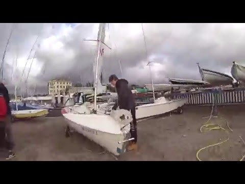 Trailer Sails - 420 Sailing - GoPro Hero 3