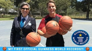 My first OFFICIAL GUINNESS WORLD RECORDS!?!