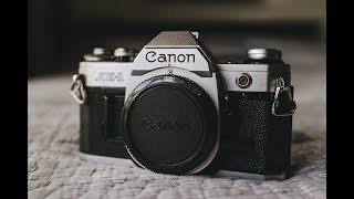 CANON AE-1 REVIEW | (MY FIRST FULL FRAME CAMERA)