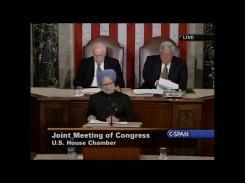 Dr. Manmohan Singh's complete address to the US congress in 2005