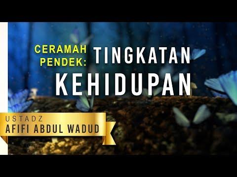 Ceramah Pendek: Tingkatan Kehidupan - Ustadz Afifi Abdul Wadud