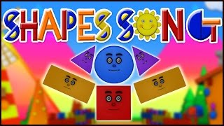 Shapes Song | Nursery Rhyme Animation & Song for Kids & Children