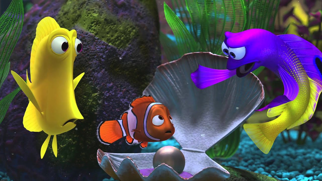 Finding nemo fish tank characters the - Aquarium nemo ...